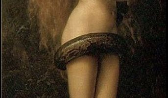 "John Collier, ""Lilith"", (1892)."
